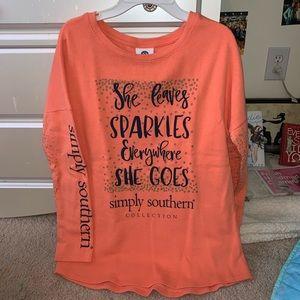 ADORABLE Simply Southern shirt!!
